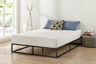 Modern Studio 10 Inch Platforma Low Profile Bed Frame/Mattress Foundation/Boxspring Optional/