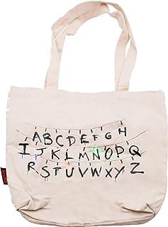 Stranger Things Shoulder Tote Bag Alphabets LED Light Up Carry Handbag