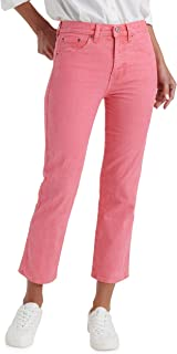 Lucky Brand Women's Mid Rise Authentic Straight Crop Jean