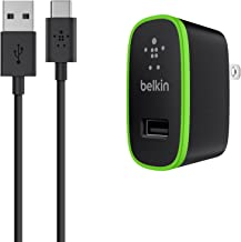 Grey Belkin Metallic USB-C Car Charger and Cable 27W // 34AMP