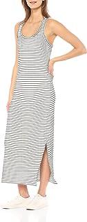 comprar comparacion Marca Amazon - Daily Ritual - Maxi vestido de algodón terry súper suave y espalda cruzada, para mujer