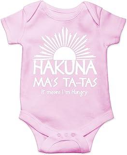 CBTwear Hakuna Ma`s Ta-Tas - Toddler Parody Funny Romper Cute Novelty Infant One-Piece Baby Bodysuit