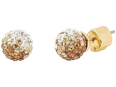 Kate Spade New York Brilliant Statements Mini Studs Earrings (Neutral Multi) Earring