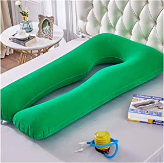 AQHXLS Inflatable Maternity Pillow, U-Shaped Sleep Support Pillow, Full Body Side Pillow (Color : Type2)