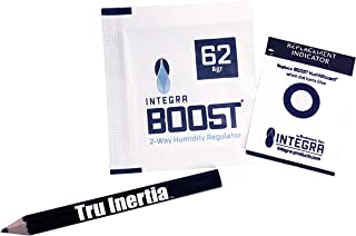 Integra Boost 8g Humidiccant Bulk 62% (50/Pack) – 2-Way Humidity Control Packs – Includes 50 Replace