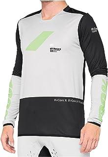100% MTB-jersey lange mouwen R-Core X Vapor/Black