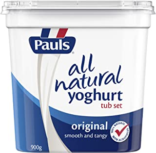 Pauls Original Natural Set Yogurt, 900g - Chilled