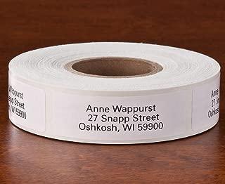 Personalized Self Stick Address Labels 500 - White