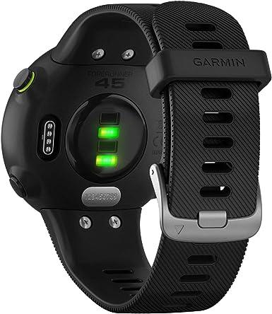 Garmin Forerunner 45S GPS Heart Rate Monitor Running Smartwatch ...