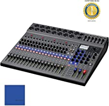 Zoom LiveTrak L-20-20-Input Digital Mixer with Microfiber and 1 Year EverythingMusic Extended Warranty