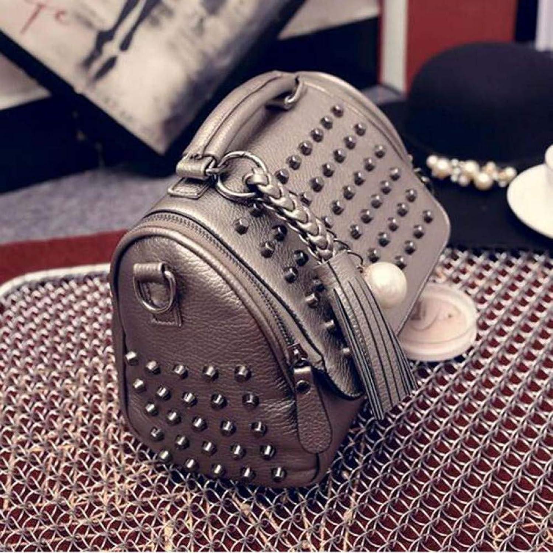 JQSM Luxury Handbags Women Bags Designer Handbags Pu Leather Bag Retro Shoulder Bag Rivet