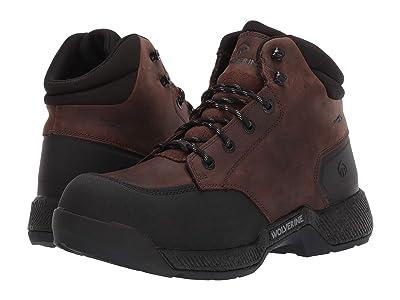 Wolverine Carom CarbonMAX 6 Work Boot (Brown) Men