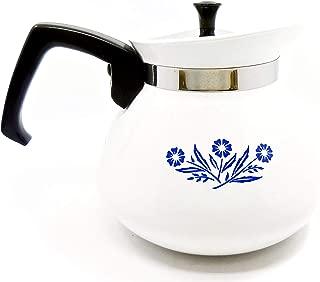 Corning Ware BLUE CORNFLOWER 6 Cup VINTAGE Teapot