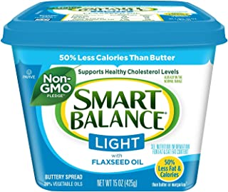 Smart Balance, Light with Flaxseed Oil Buttery Spread, 15 oz