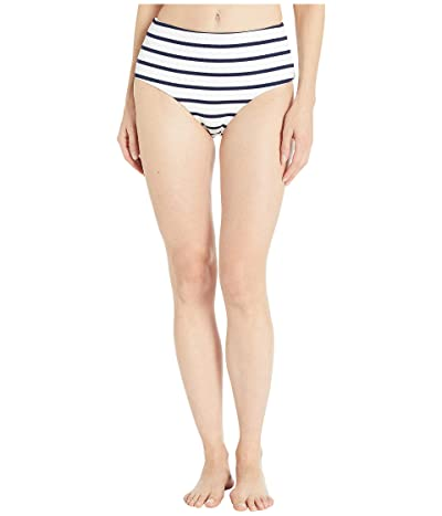 Eberjey Retro Stripes Dita Bikini Bottoms (Peacoat/White) Women