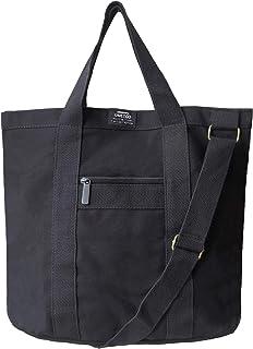 Men's Canvas Tote Bag Large Capacity 2Way Shoulder Tote bag Handbag