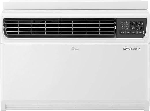 LG 1 Ton 5 Star Wi-Fi Inverter Window AC (Copper, JW-Q12WUZA, White, Low Gas Detection)