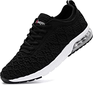 LARNMERN PLUS Chaussure de Course Femme Basket Running Lacets Fitness Sports Sneakers Basses Mode Casual Respirant Maille(...