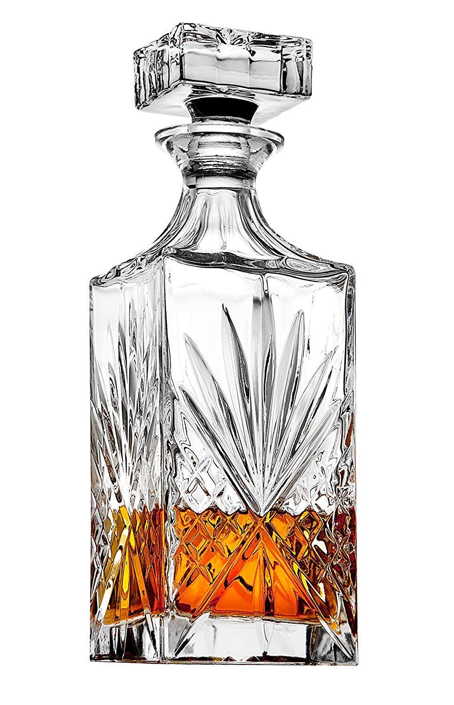 James Scott Crystal Whiskey Decanter