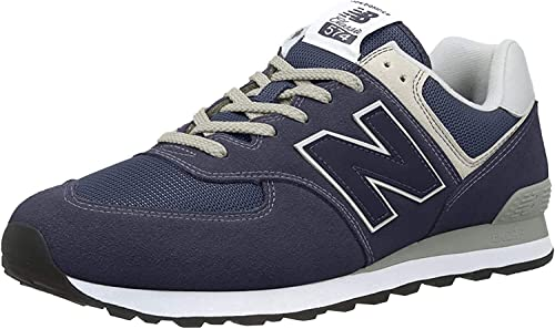 Buy new balance Men 574V2-Core' Low-Top Trainers, Blue Navy, 39.5 ...
