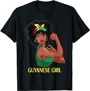 Guyanese Girl Strong Women T Shirt