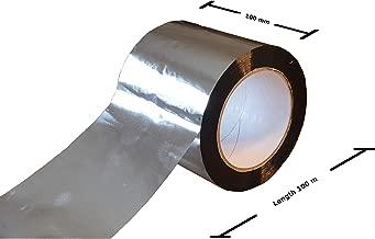 Prosperveil Autocollant en Aluminium de Cuisine Anti-huile Auto-Adh/ésif Pour Armoires Tiroirs /Étag/ères 300 61cm Argent