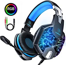 Auriculares Gaming PS4, YINSAN Cascos Gaming Premium Esté