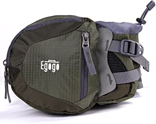 EGOGO Travel Sport Waist Pack Fanny Pack Bum Bag Hiking Bag with Water Bottle Holder S2209