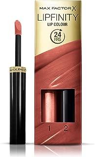 Max Factor Lipfinity Lip Colour Lipstick, 2-step Long Lasting, 150 Bare, 2.3ml and 1.9g