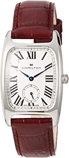 Hamilton H13421811 Boulton Unisex Watch Red 18mm Stainless Steel