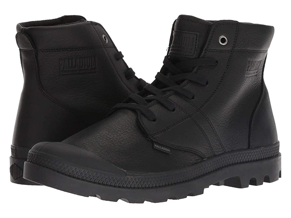 Palladium Pallabrousse Leather (Black/Black) Men
