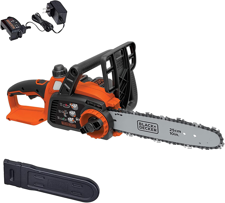 BLACK+DECKER LCS1020 20V MAX Cordless Chainsaw