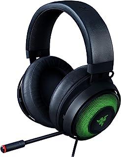 Razer Kraken Ultimate RGB USB Gaming Headset: THX 7.1 Spatial Surround Sound - Chroma RGB Lighting - Retractable Active No...