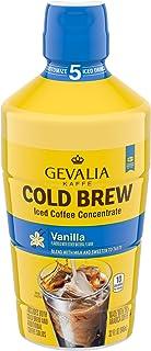 Gevalia Cold Brew Vanilla Concentrate Iced Coffee (32 fl oz Bottle)