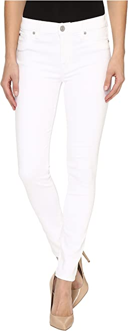 Nico Mid-Rise Ankle Super Skinny in White