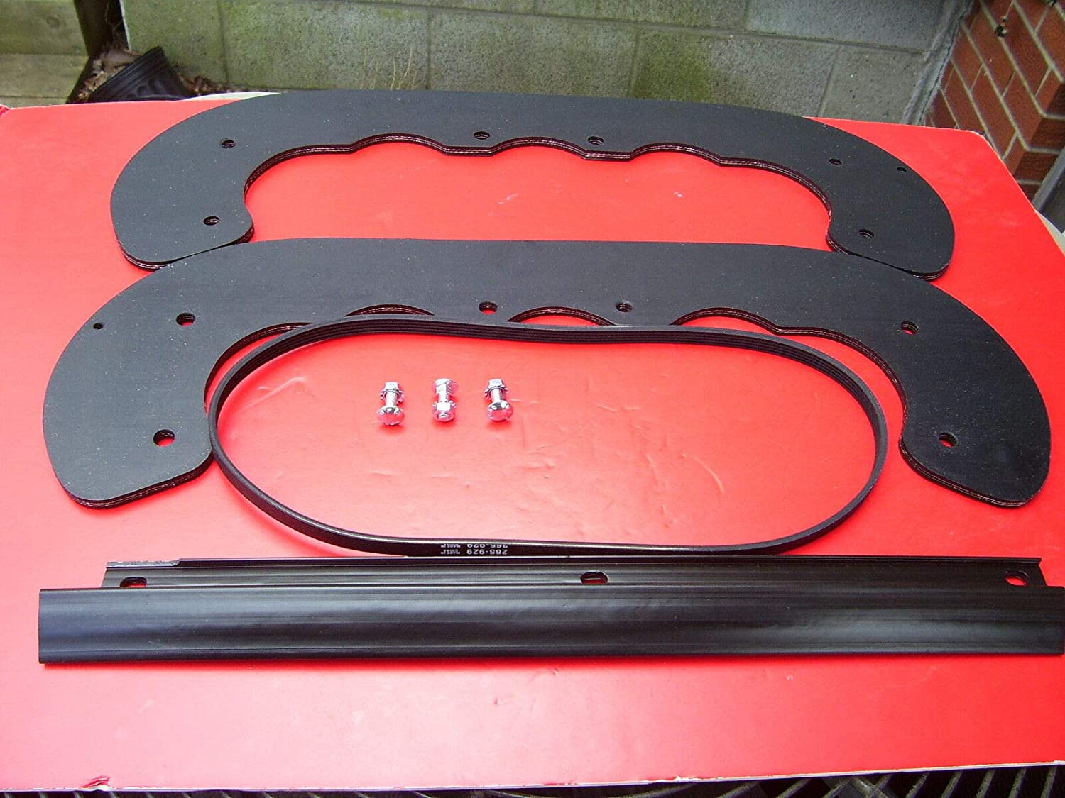 RDOG Paddles Scraper Belt HDW 95-6151 99-9313 fo Outstanding Parts 55-8760 Max 79% OFF