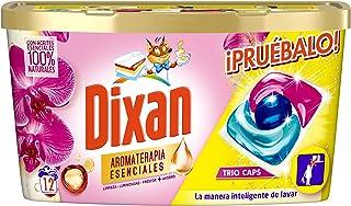Dixan Wasmiddel in capsules voor wasmachine Trio Caps aromatherapie - 12 wasbeurten