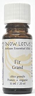 Snow Lotus Fir, Grand Essential Oil Organic 10ml