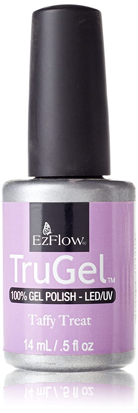 腰残高賠償EzFlow トゥルージェル カラージェル EZ-42441 タフィートリート 14ml