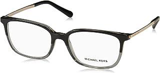 Eyeglasses Michael Kors MK 4047 3280 BLACK/TRANSPARENT GREY, 53-17-135