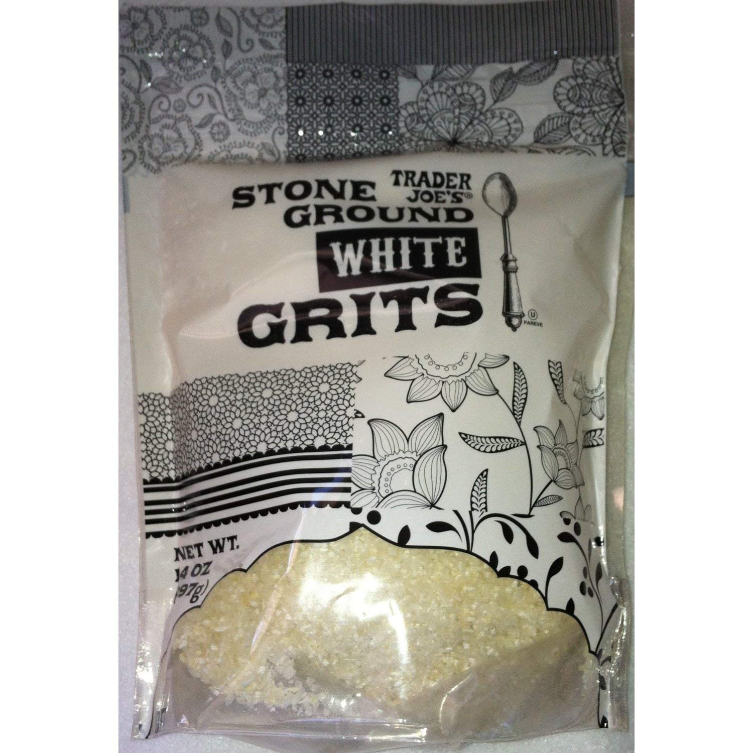 trust Trader Joe's Stone Ground White Grits Ounces 4 San Diego Mall 14 Set of