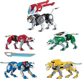 Voltron Legendary Defender Set of 5 Combining Lions Action Figures - Forms 8