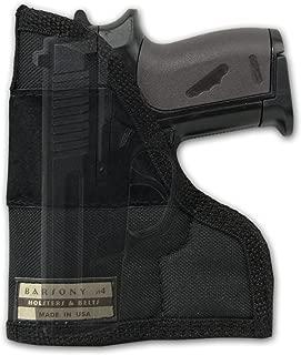 Barsony New Gun Concealment Pocket Holster for Small .22 .25 .380 .32 Pistols