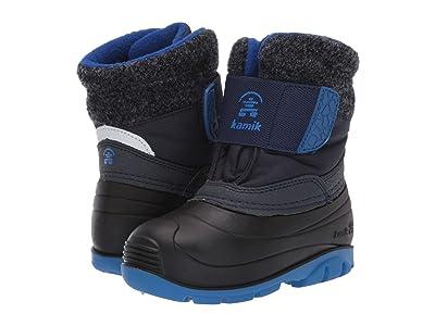 Kamik Kids Wren (Toddler) (Black/Blue) Boys Shoes