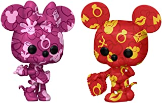 Funko Pop! Artist Series: Disney Treasures from The Vault - Mickey y Minnie Mouse (2 unidades)