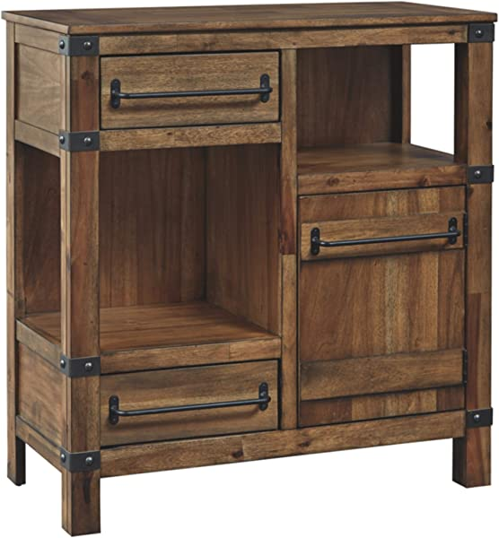 Signature Design By Ashley T411 40 Roybeck Accent Cabinet Brown