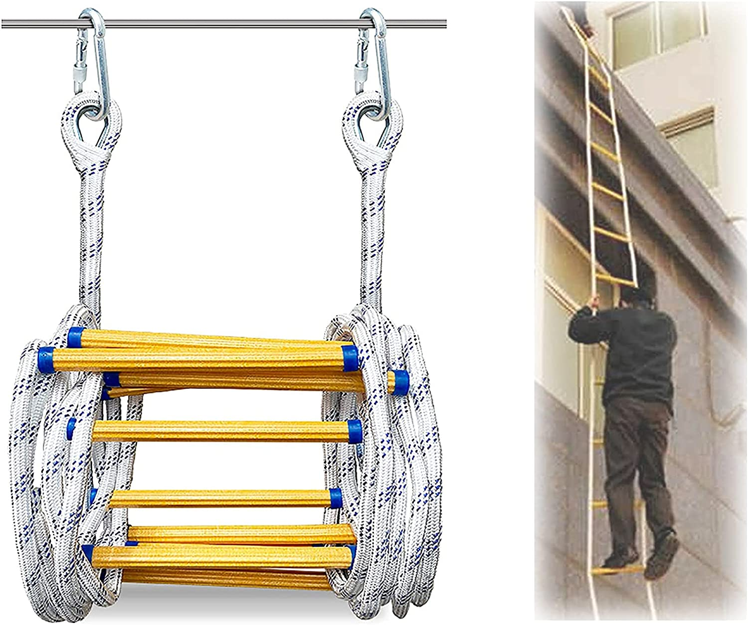 Rope Ladder Fireproof Rescue 3m-30m Feet 9.8-98 E Fire Sale SALE% OFF Cheap super special price