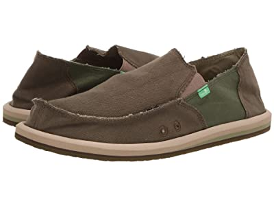 Sanuk Vagabond Hemp (Dark Olive/Green) Men