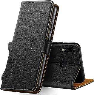 Anjoo ASUS ZenFone 5 ZE620KL 対応 ケース, Zenfone 5z ZS620KL 対応 手帳型ケース PUレザー カード収納 横置きスタンド機能付き マグネット式 耐衝撃 耐摩擦 全面保護 スマホケース