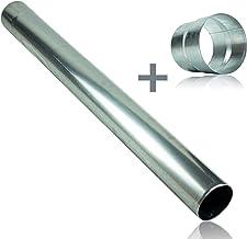 Ablaufbogen Ablaufrohr Abflussrohr Abflussbogen 300mm chrom Spülbeckensiphon